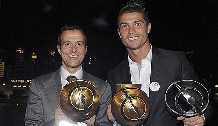 Mendes: Ronaldo marcaría más goles si jugase en el mejor equipo, el Barcelona