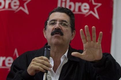 Zelaya buscará alianzas para tratar de revertir reforma fiscal en Honduras
