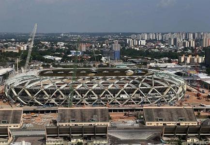 Cuatro estadios del Mundial, ante el abismo de la falta de rentabilidad