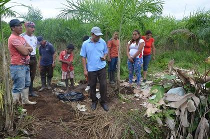 Los familiares de Agustín Nevárez siguen buscando sus restos
