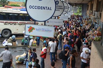 En la Terminal Terrestre de Santo Domingo el destino más solicitado es Guayas