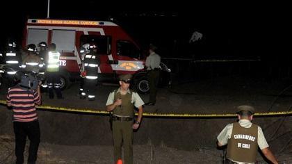 Cuatro muertos al estrellarse avioneta cerca de Santiago de Chile