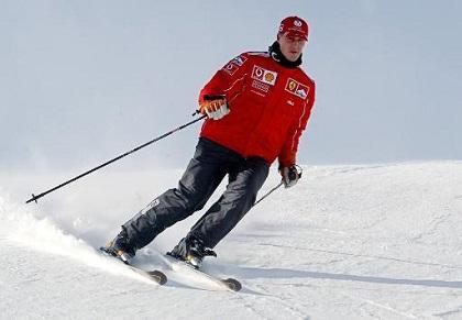 Michael Schumacher sufre accidente esquiando
