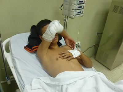 Joven recibe dos impactos de bala al enfrentar a ladrones