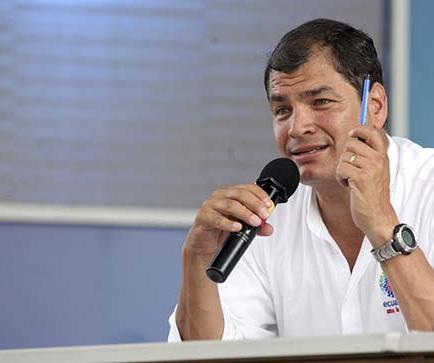 Correa visitará Cuba, Chile, Asia y Oriente Medio
