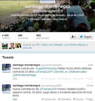 Horacio Salaberry y Rafael Nicola son la nueva contratación de Liga de Portoviejo