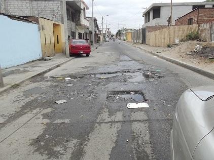 Moradores La Pradera piden arreglo de calles
