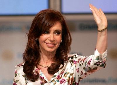La presidenta de Argentina aparece 'desnuda' en la portada de una revista