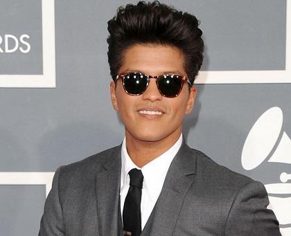 Disco de Bruno Mars es el más vendido del 2013 en todo el mundo