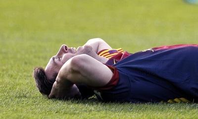 Lionel Messi completa su recuperación y augura un 2014 sin lesiones