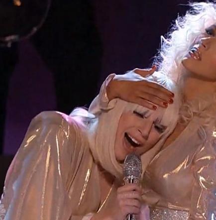 Aguilera y Gaga juntas en proyecto