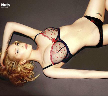Helen Flanagan quiere posar para Playboy