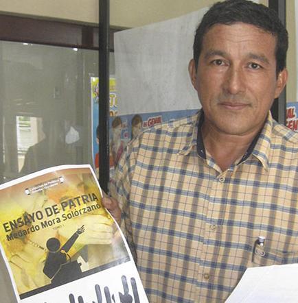 Hoy sepultan al escritor manabita Ubaldo Gil Flores