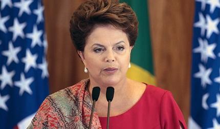 Rousseff augura un 'mejor' nivel de vida para los brasileños en el año 2014