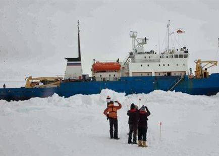 Expedición científica recibirá el nuevo año atrapada en el hielo antártico