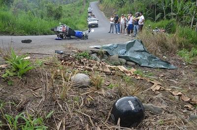 Accidentes de tránsito cobraron la vida de 112 personas en este 2013