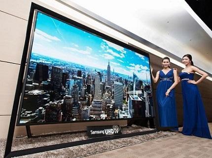 Samsung lanza televisor con pantalla de 110 pulgadas