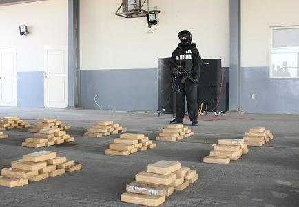 En el 2013, en Manta, Montecristi y Jaramijó, la Policía incautó 2.104 kilos de droga.