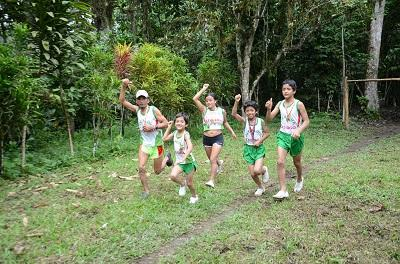 Familia santodomingueña formó su propio club de atletas