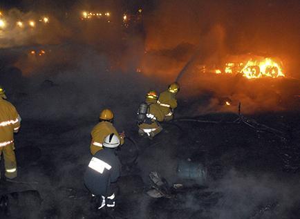 Cinco años después de la explosión en la vía Portoviejo-Manta