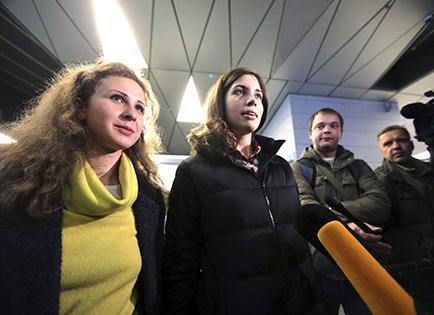 Las Pussy Riot contra Putin
