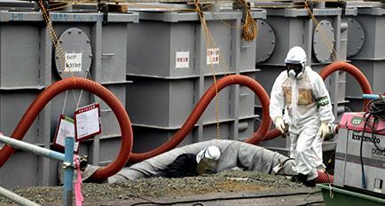 Usan mendigos para limpiar Fukushima