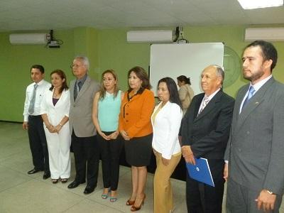 Consejo de la Judicatura presentó a nuevos notarios para Santo Domingo