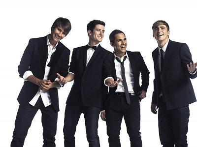Big Time Rush cantará en Ecuador el 19 de febrero