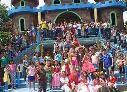 Mas de 600 niños participaron en festejo