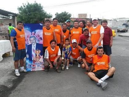 Se jugó copa Jaime Zambrano en el barrio San José
