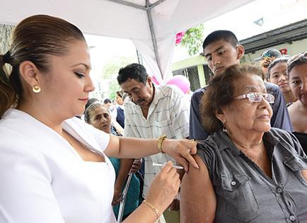 Llegan 88.300 vacunas más contra la influenza