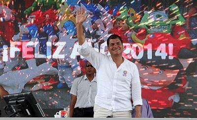 Correa afirma que Ecuador ha superado la 'desesperanza'
