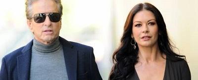 Zeta-Jones y Michael Douglas reunidos tras separación