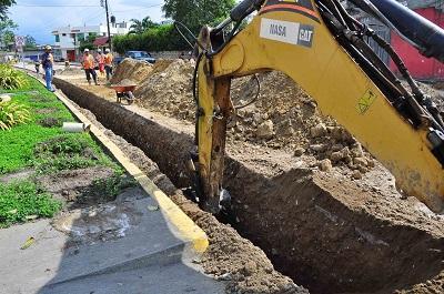 Proyecto de Agua Potable de Santo Domingo sigue en marcha