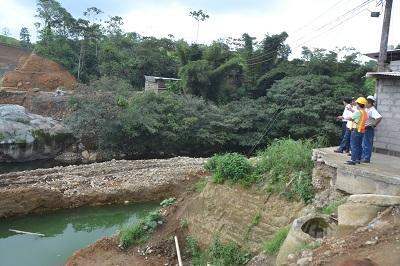 Construcción de la vía Aventura de Santo Domingo avanza en un 25 por ciento
