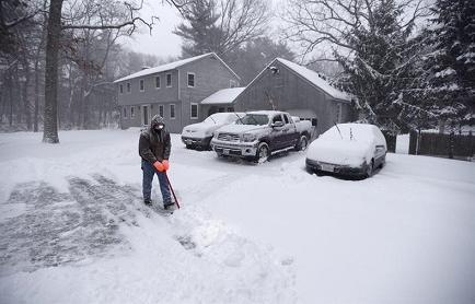 Declaran estado de emergencia en Nueva York y Nueva Jersey por tormenta de nieve