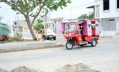 Piden arreglo del alumbrado público en la ciudadela San Rafael