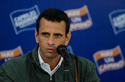 Capriles rechaza lista del Gobierno con destinos vacacionales de opositores