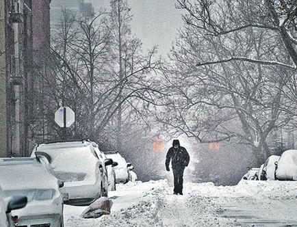 9 muertos por fuerte nevada
