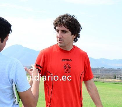 Javier Grbec promete trabajar duro por el Manta F.C.