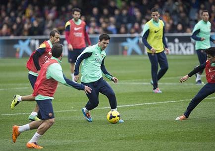 Messi cautiva en su retorno