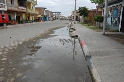 Roturas de tuberías causan malestar en moradores de Jaramijó