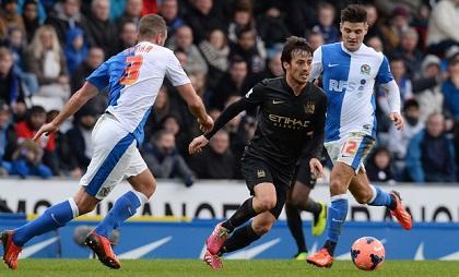 Blackburn y Manchester City empatan (1-1) y volverán a enfrentarse