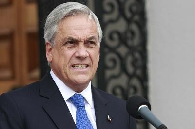 Piñera llama a la unidad nacional para combatir la delincuencia en Chile