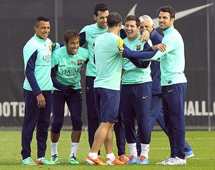 Barça, sin Messi, enfrenta al elche