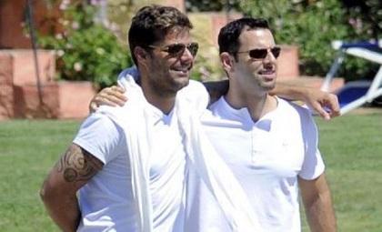 La relación entre Ricky Martin y su novio terminó 'en total armonía'