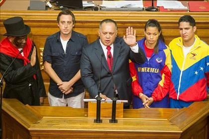 Diosdado Cabello es reelegido presidente del Parlamento venezolano