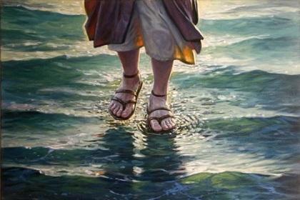 Evángelico quiso caminar sobre el agua como Jesús y se ahogó