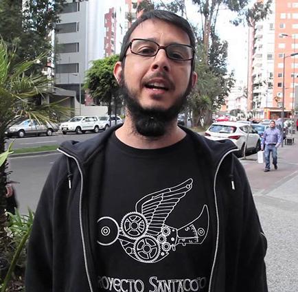 Andrés Sacoto está a la espera de su primogénito