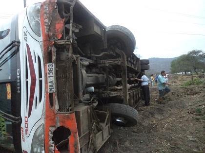 Policía investiga accidente de tránsito en la vía Montecristi - Portoviejo